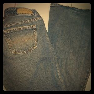Vintage washed Abercrombie Flare Jeans